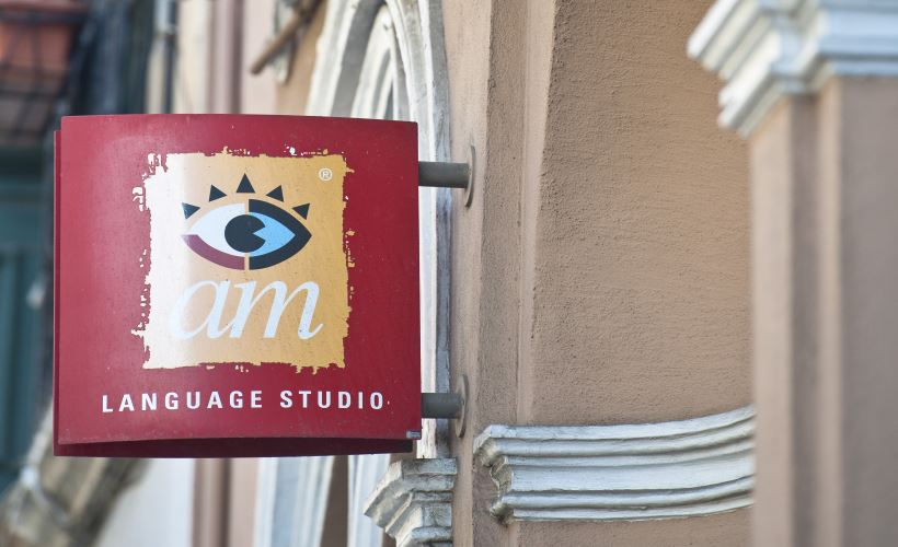 Logo AM Language Studio Malta